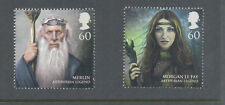 Great Britain-King Arthur mnh(2)Merlin-Morgan Le Fay-Wizard-legends