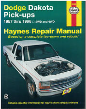 Haynes Dodge Dakota Pick-Ups 1987-1996 Repair Manual