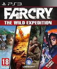 FarCry The Wild Expedition PS3 Playstation 3 UK **NEW SEALED!** Far Cry