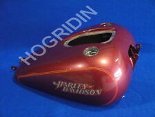 Harley Davidson dyna glide gas fuel tank emblems injected  good condition