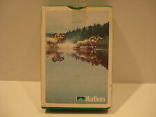 Marlboro Cigarettes White Horse Playing Cards