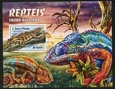 SAO TOME 2016 AFRICAN FAUNA REPTILES SHEET MINT NEVER HINGED