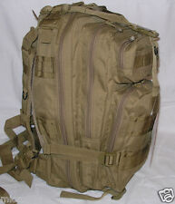 Survival Backpack Coyote Desert Fox Outdoor Medium Tactical 3-Day Molle Military