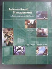 International Management Culture Strategy and Behavior Hardcover 7E Luthans Doh