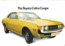 Toyota Celica Coupe 1600 ST 1974-75 Original UK Sales Brochure CST/74/1