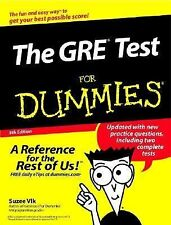 The GRE® Test for Dummies® by Suzee Vlk (2002, Paperback, Revised)