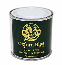 Oxford Blue Wax For Rewaxing Jackets and all Cotton Wax In A Tin 200ml RRP £20