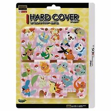 Pokemon Characters Pink Hard Case Cover for New Nintendo 3DS LL XL