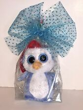 TY FAIRBANKS BEANIE BOOS IN CELLO-NEW, MINT TAG-RETIRED, HARD TO FIND-LOVES SNOW