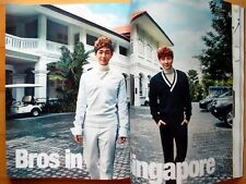 SHINEE ONEW SJ Lee Teuk 8P/Clippings/Cosmopolitan Korea Magazine/February 2015
