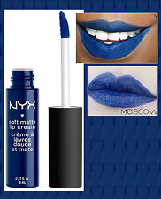 NYX - SOFT MATTE LIP CREAM LIQUID LIPSTICK - MOSCOW - NAVY BLUE