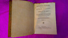 HISTORIA SECRETA DEL GABINETE DE NAPOLEON BONAPARTE J.MATARO, L. GOLDSMITH 1813