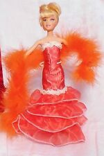 "BARBIE  DOLL  PARTY  GOWN "" #603    BY  EDE "" OOAK'"