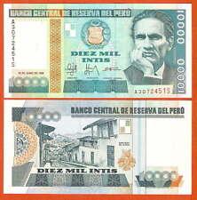 P140   Peru   10.000 Intis    1988   UNC