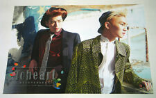 TOHEART INFINITE Woohyun & SHINee Key - 1st Mini Album [OFFICIAL POSTER] TYPE-A