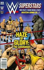 WWE SUPERSTARS #8 SUPER GENIUS COMICS FIRST PRINT