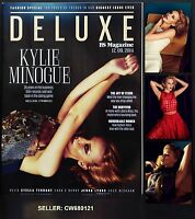 KYLIE MINOGUE (KISS ME ONCE) COVER INTERVIEW ES MAGAZINE DELUXE SEP 2014