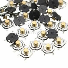 50Pcs Micro Waterproof Copper Tactile Tact Touch Push Button Switch SMD 4x4x3mm