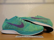 Nike Flyknit Racer SPORT TURQUOISE Sz 11.5 100% Authentic Trainer Chukka Lunar