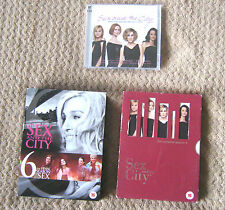 Sex and the CitySeries 5 &  6 and a CD with Music from the Series