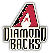 "Arizona Diamond Backs MLB Baseball Combo Logo Car Bumper Sticker Decal 4"" x 5"""
