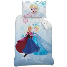 Disney Frozen 043693 Bettwäsche Winter, Baumwolle , 140 x 200 + 70 x 90 cm