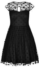 NWT City Chic Polka Dot Plus Size  Cut Out Lace Dress 16 1x Holiday Party