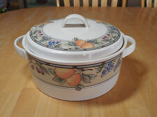 Mikasa Intaglio GARDEN HARVEST CAC29 Soup Tureen with Lid 2 pcs