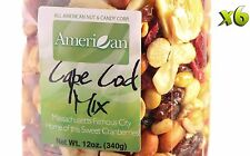 60oz Gourmet Style Bag of Cape Cod Cranberry Mix with Fruits & Nuts [3 3/4 lbs]