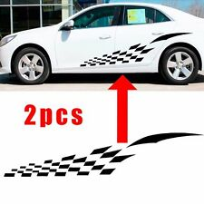 Checkered Flag WRC Auto Graphic decal Vinyl car truck body racing stripe sticker