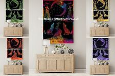 Indian Mandala Wall Hanging 10 PC Wholesale Lot Yoga Mat Wolf Moon Tapestry Art