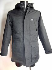 TIMBERLAND Black Waterproof PARKA Padded with Hood Size M BNWT