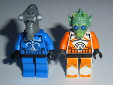 (P) STAR WARS Lego Lot of 2 Alien Clone Troopers NEW custom Authentic Lego Parts