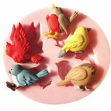 Bird Silicone Fondant Cake Mold Chocolate Mould Kitchen Baking Tools