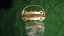 """FLIP PLATE CHEST HANDLES WITH SCREWS LOT OF 9 SIZE 3 1/2"""" L X 1 1/2""""W"""