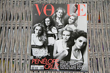 VOGUE PARIS 907 2010 Penélope CRUZ  Meryl STREEP Gwyneth Paltrow Kate WINSLET