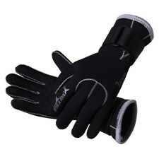 Auction 3mm Neoprene Skid-proof Wetsuit Gloves Swimming Surfing Diving Gloves M