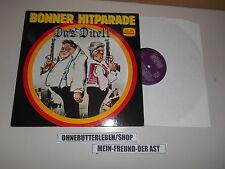 LP VA Bonner Hitparade - Das Duell (12 Song) BELLAPHON Strauss Schmidt Comedy