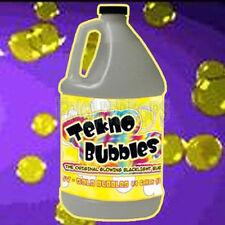 Gallon Jug Gold Tekno Bubbles + FREE Bubble Wands + FREE Invisible UV Marker