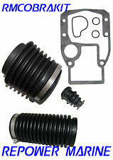 Bellows Kit for OMC Cobra Sterndrives, UJ Bellows, Exhaust Bellows, Cable bellow