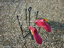 3 Pair Welly Wheel Boot Stand Shoe Holder Rack Wellies Storage Hand Crafted Iron