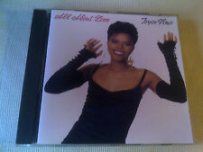 JOYCE SIMS - ALL ABOUT LOVE - 10 TRACK CD ALBUM - 1989