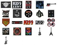 KISS Sew On Patch/Patches NEW OFFICIAL. Choice of 23 designs