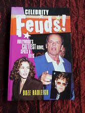 CELEBRITY FEUDS - BY BOZE HADLEIGH -PAPERBACK BOOK   - UK 2000