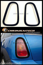 01-06 BMW MINI Cooper/Cooper S/ONE R50 R53 BLACK Tail Llight Rear Light Surround