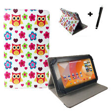 Medion Lifetab P8912 P8911 P8913 MD99066 Tablet Tasche Hülle - 8,9Zoll Eule love