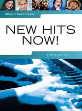 Really Easy Piano New Hits Now PLAY Pop One Direction LORDE Beginner Music Book