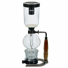 HARIO COFFEE SIPHON TECHNICA  TCA-3BC-EX JAPAN IMPORT GUN METAL LIMITED EDITION