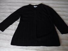 H&M Girls Black Cardigan with 3/4 Sleeve for 13 to 14 years