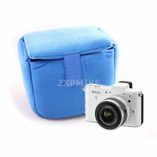 NDU Camera Insert Partition Padded Bag For Sony NEX-3N NEX-5T NEX-6 NEX-7